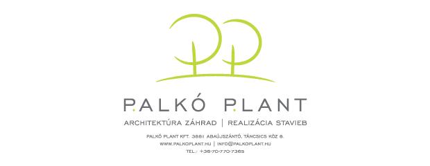 Palko Plant - Architektúra záhrad, realizácia stavieb