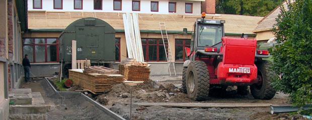 Palko Plant - Épületek építése