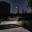 Sárospatak  zöld város Retel lépcső este
